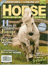 Horse Illustrated Cover Jan 2015