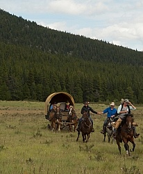 The Meadow Gallop On the Trail with Wild Deuce Outfitters