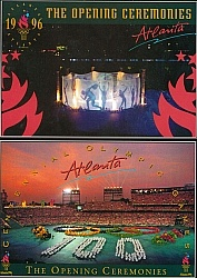 1996 Atlanta Olympic Post Cards