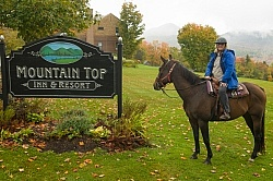Fall Colors Ride at Mountain Top Resort, Vermont
