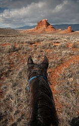 Trail Riding at The Hideout Guest Ranch