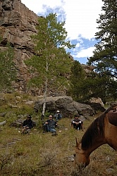 Lunch Stop with Blue Sky Sage Outfitters