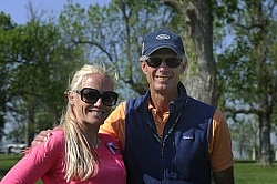 di Grazia and Hawley Bennett Rolex 2012