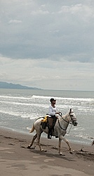Beach Riding in Costa Rica