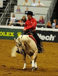 Vernon Sapergia and Its Wimpys Turn WEG 2010 Reining