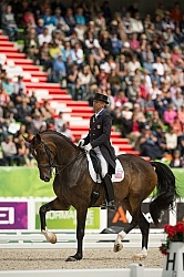 Steffen Peters and Legolas 92 Team Grand Prix WEG 2014 Normandy,