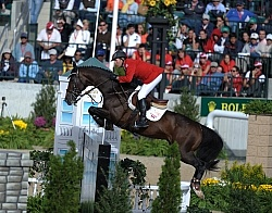 Eric Lamaze and Hickstead WEG 2010