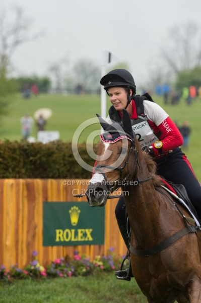 Lisa Marie Fergusson and Honor Me, Rolex 2016