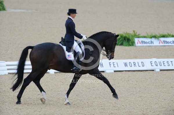 Katherine Bateson-Chandler and Nartan WEG 2010