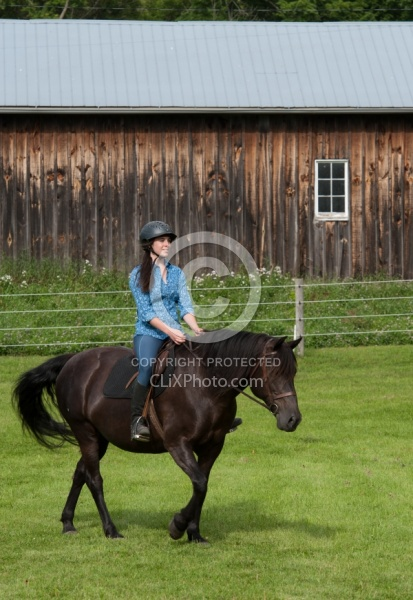 Canadian Under Saddle