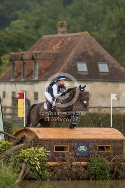 Lynn Symansky and Donner WEG 2014 Normandy,France